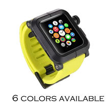 URVOI band for apple watch protector EPIK ALUMINUM silicone band with Anti-dust/Dirt Nano Coating ALUMINUM case generaltion 2