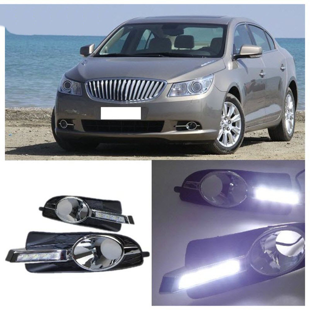 A Pair of LED Daytime Running Lights Kits DRL For Buick LaCrosse 2010-2012 free shipping by DHL Express(China (Mainland))