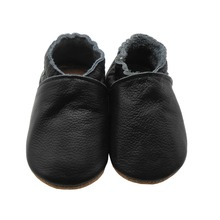 Sayoyo Brand Baby Moccasins Black Cow Leather Baby Boy Shoes Boy Newborn First Walkers Kids Crib Infant Shoes Free Shipping(China (Mainland))