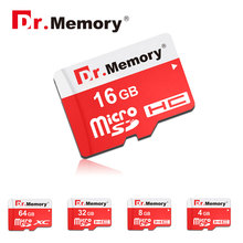Micro SD Memory Card 32GB/16GB Class10 8GB 4GB Class6 TF card Red Microsd Pen drive Flash Memory Disk For Smertphone Camera
