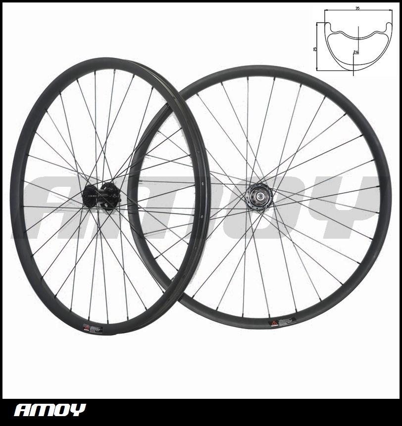 All mountain carbon wheels 27.5ER mtb wheels novatec hub black full carbon fiber wheelset 2015 China AM wheels(China (Mainland))