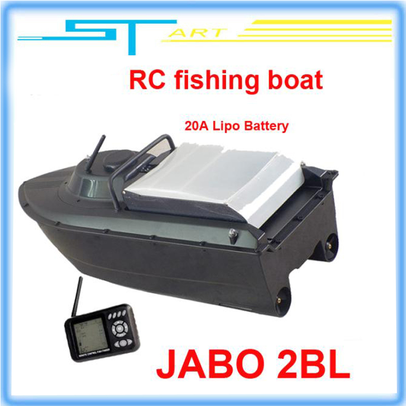 Drop shipping JABO 2BL Remote Control Bait Boat Fish Finder upgade JABO 2BS 20A Lipo Battery Newest Eiditon Jabo RC fishing  RTF