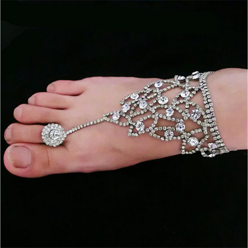 1 Pair Fashion Fuax Crystal Rhinestone Bridal Wedding ...