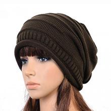 2015 Winter Bonnet Femme Beanies Hats For Women Caps Ski Warm Knitted Crochet Baggy Skullies Amp Beanies Hat Cap