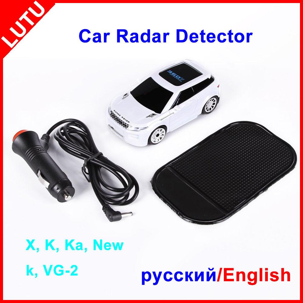 360 Degree Anti Radar Russian Radar Detector 3 Color LED Display Russia English Voice Car Detector Full Bands Free Shipping
