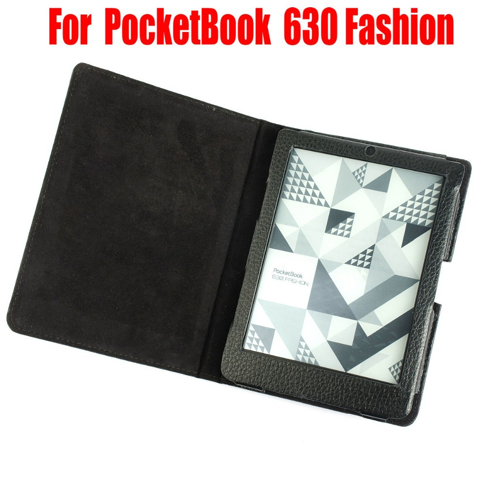PU tablet leather cover case funda for PocketBook 630 Fashion e-Books eReader Case 10pcs<br>