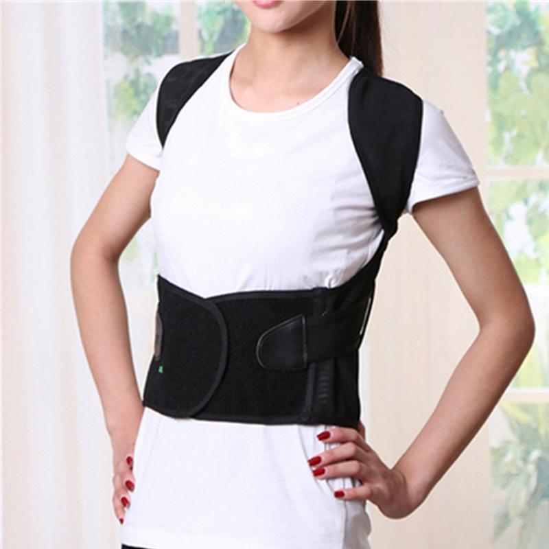 1 Pcs Unisex Back Shoulder Posture Corrector Support Straighten Brace Belt Orthopaedic Adjustable Health Care(China (Mainland))