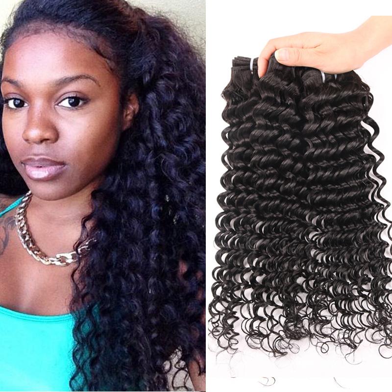 Malaysian Deep Curly Virgin Hair 6A Kinky Curly Virgin Hair 4pcs/lot Malaysian Virgin Hair Code Calla Hair Products MTBC26<br><br>Aliexpress
