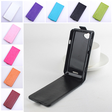Fashion 9 colors Flip Leather Cover Case Sony Xperia L S36H C2105 C2014 Vertical Back Magnetic Protective Shell - Chuker Store store