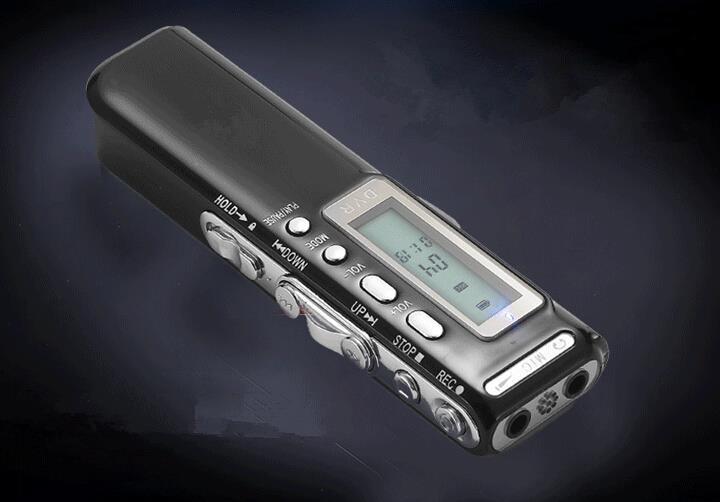 8GB USB Digital Audio Voice Recorder Dictaphone MP3 Player Recorder LCD Display Screen <br><br>Aliexpress