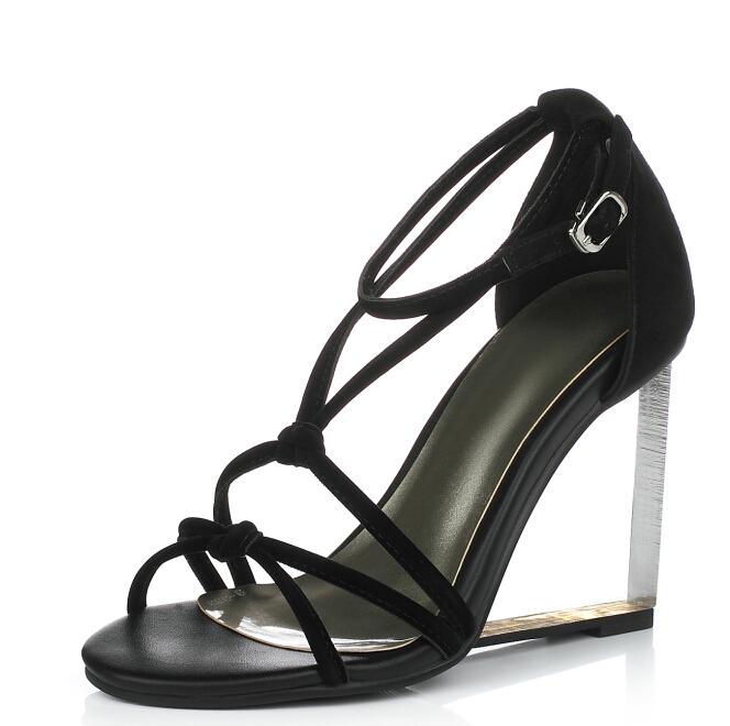 shoes women sandals European American fashion wedges high heels shoes comfortable dress shoes woman Platform sandals<br><br>Aliexpress