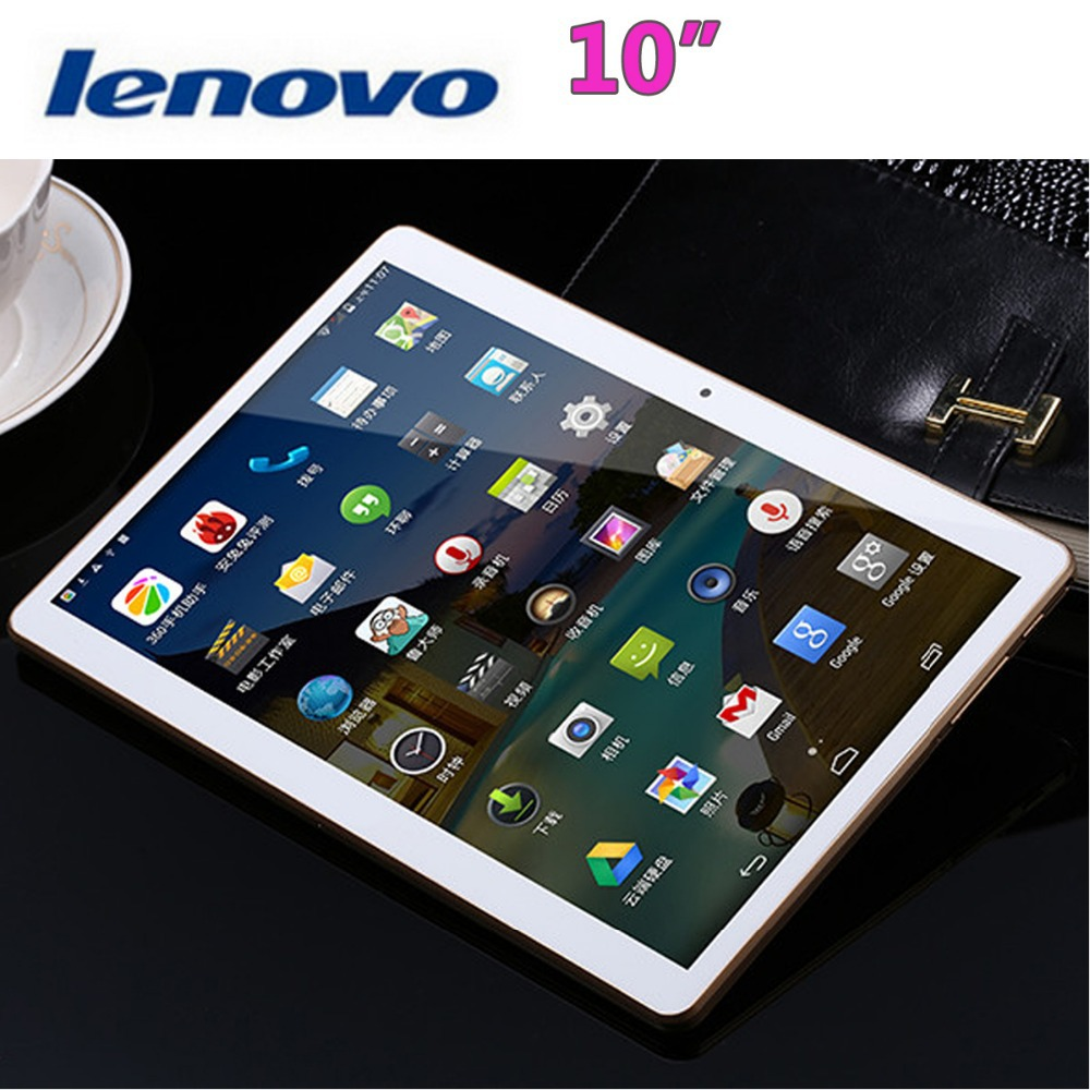 "10 Inch Lenovo Tablet MTK8392 Octa Core 1.6GHz 2560*1600 IPS 2GB 32GB Android 4.4 Tablet PC 10.1"" 3G Phone Call 8.0MP Camera GPS(China (Mainland))"