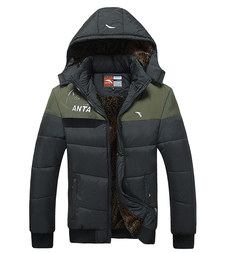 Free Shipping 2014 Winter New Fashion Men s Cotton Clothes Sports Coat Outdoor Down Jacket Men