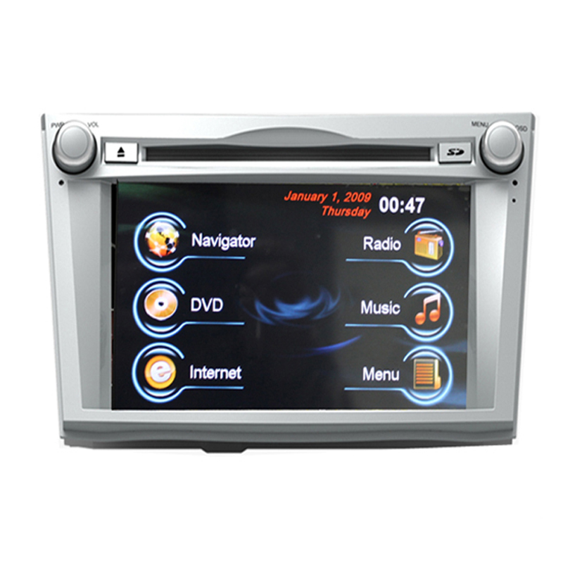 7 Inch Touch Screen 2 Din Car DVD Player for Outback Legacy with GPS Navigation Radiao Video MP3 Multimedia Player Free Map(China (Mainland))