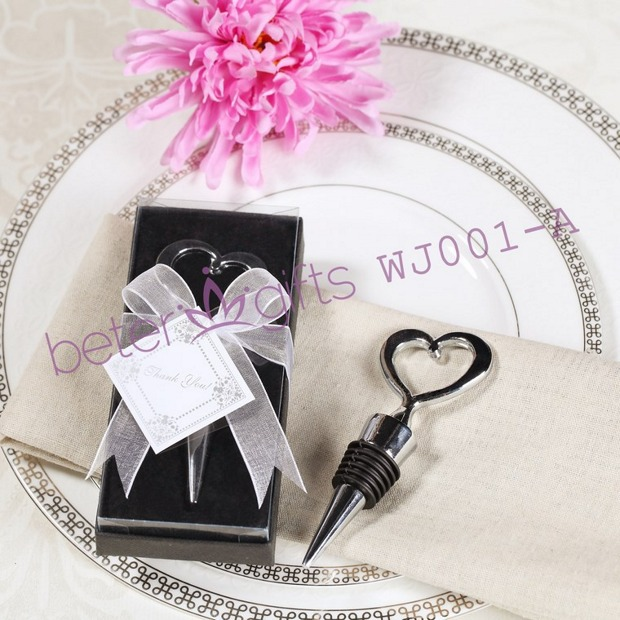 200box Free Shipping Key to My Heart Wine Stopper Christmas Party Souvenirs BETER-WJ001/A Bachelorette favors(China (Mainland))