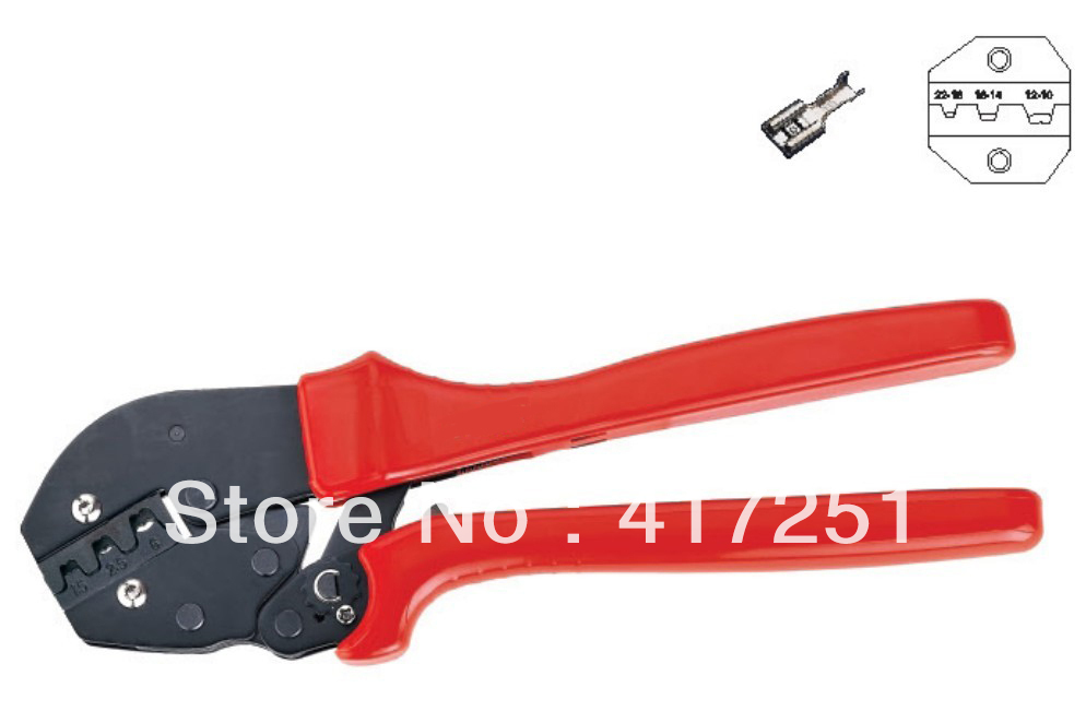 Terminal Crimper For Non-Insulated tabs and Receptacles 20-10AWG<br><br>Aliexpress