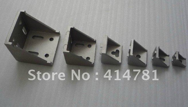 20x20 brackets aluminium profile accessories connector profile L connector fastener fitting -20pcs(China (Mainland))