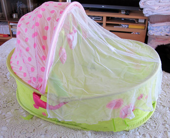 The pop up baby cradle, sleeping basket, small tent folding UV protection baby bed,freeshipping