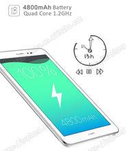 J Huawei Honor S8 701u Tablet PC MSM8212 Quad Core 8 inch 3G Phone Call 4800mAh