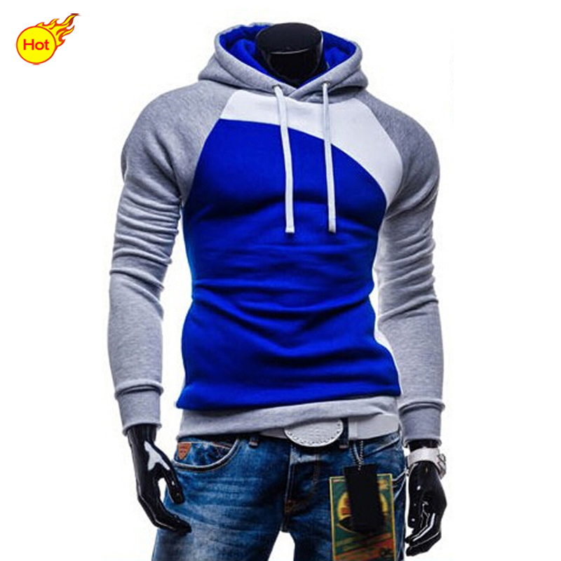 2015 NEW Hoodies Men Brand Sweatshirt Men's Teenagers Winter Coat Sport Suits For Mens Sportswear Summer Style Plus Size M-XXXL(China (Mainland))