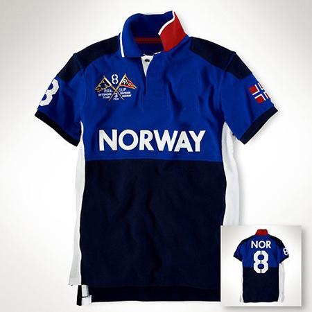 Free Shipping Polo Shirt For Men UAE Norway USA Country Ocean Race Challenge Brand Clothing Flag Logo Regata Men's Camiseta Polo(China (Mainland))