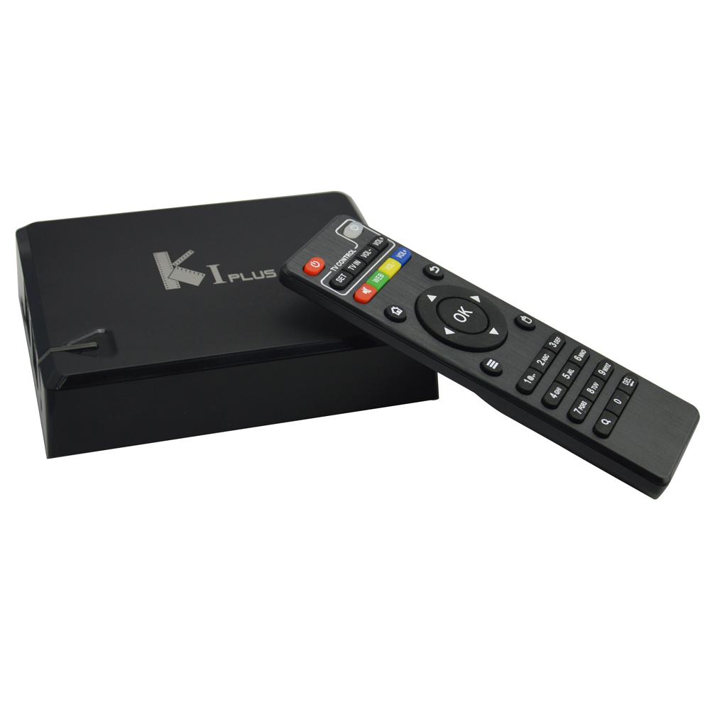 K1 Plus Amlogic S905 OTT TV Box Bluetooth 4K HD 1G/8G Quad Core Android 5.1.1 STB Hybrid Wifi Media Player(China (Mainland))