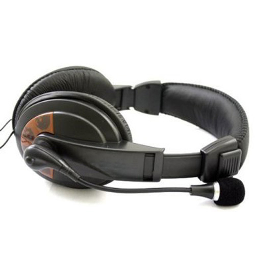 USA Delivery New Black Sensitive Computer PC Laptop Headphone Headset Microphone Mic(China (Mainland))