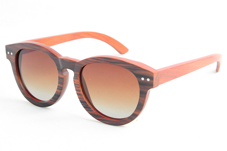 New Fashion Sun glasses For Men and Women Polarized Retro Wooden Sunglasses Vintage Red Wood Frame LS3029(China (Mainland))