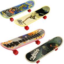 4pcs/set  Tech Skateboard Stunt Ramp Deck toy professional tools graffiti fashion mini finger skateboard (China (Mainland))
