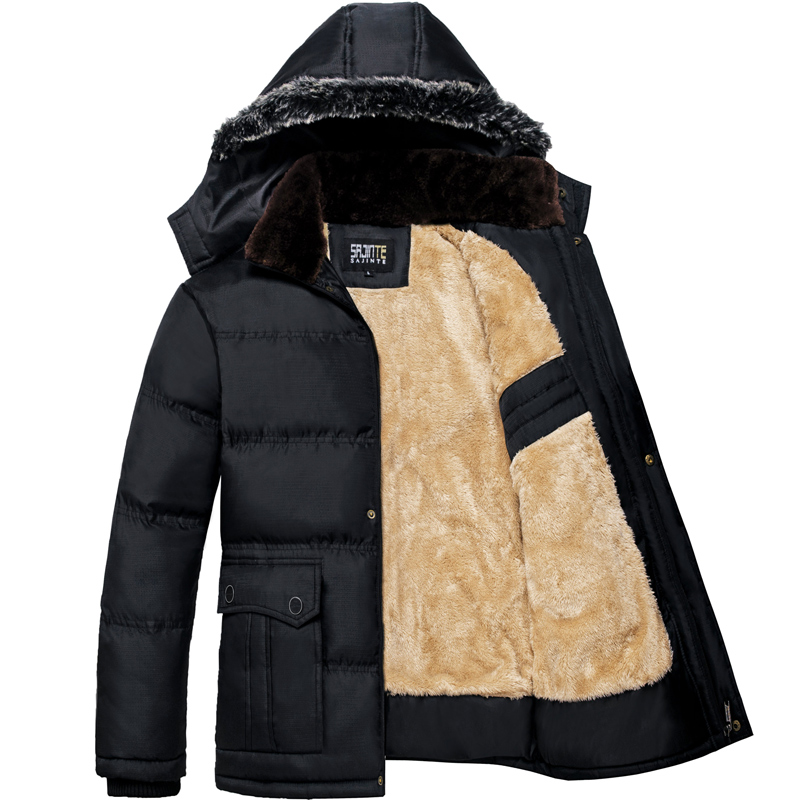 online kaufen gro handel fur lined hooded jackets aus