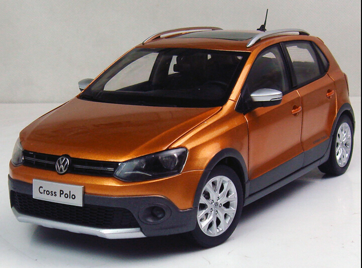 2015 Alloy 1:18 Limited edition Volkswagen CROSS POLO car models(China (Mainland))