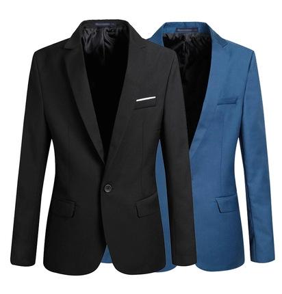 Blazer Dos Homens casuais Moda Plus Size Negócios Slim Fit Jaqueta Ternos Masculino Blazer Botão Paletó Homens Formal paletó(China (Mainland))