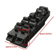 Buy 1 pc New Master Power Window Switch Driver Side Front LH Left w/Auto Down for Dodge Truck SA309 T10 for $22.56 in AliExpress store