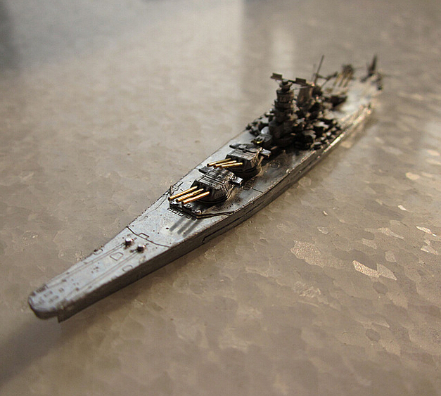 Etched Sheets 3D Puzzles Metal DIY assembly model Jigsaw 1:2400 scale model kit Japanese Battleship Yamato model puzzles<br><br>Aliexpress