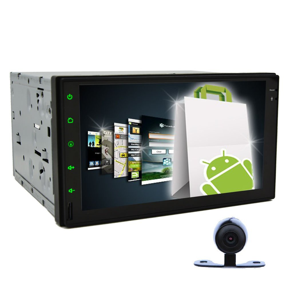 Double 2 Din Android 4.2 In Dash 3D GPS Navigation Car Tablet PC Navi 1.6G CPU RAM Video Audio Radio None-Disc DVD Player+Camera(China (Mainland))