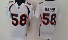 100% Stitiched,Denver Bronco,Von Miller for mens and womens,youth,camouflage(China (Mainland))