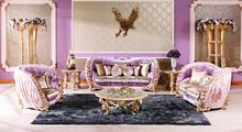 European style antique vintage comfortable living room sofa set(China (Mainland))