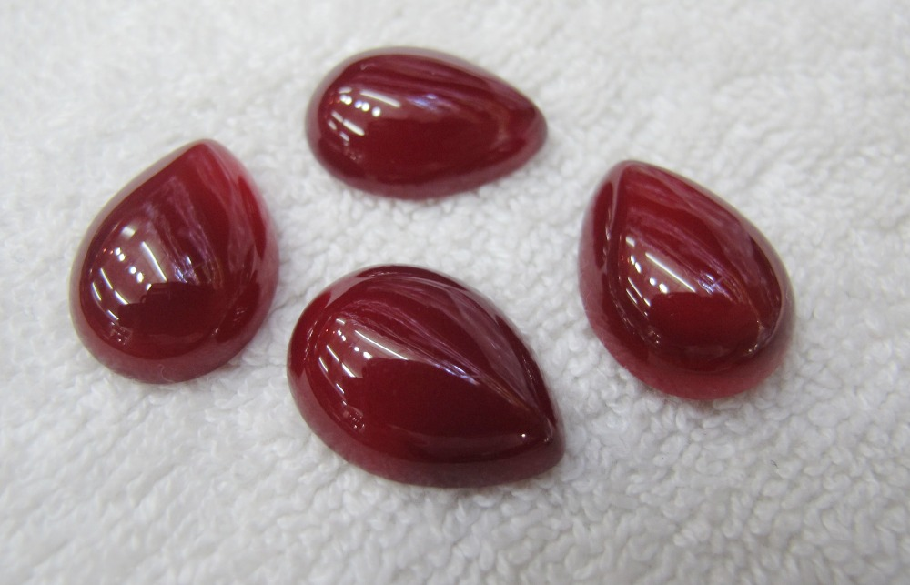 Promotion!!Natural Ruby Red Carnelian 15*20mm Oval Gem Jewelry Ruby Agate Cabochon Stone Ring Face Ring Setting 30pcs/lot