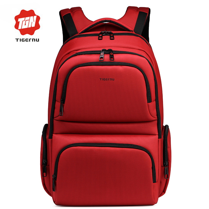 17 Inch School Bags for Teenager Boys Girls School Backpacks High Quality Dropproof Nylon Tigernu Brand Men Bussiness Backpack(China (Mainland))