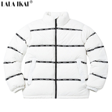 Brand LOGO Tape Puffy jacket 16FW 1:1 Joint Limit Down Jacket Top Quality Winter Parka Men Windbreaker Thick Down Coat SMM0091-1(China (Mainland))