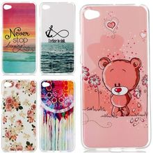 New Soft Beautiful Pattern TPU Thin Case For Lenovo S90 S90T S90U Mobile Phone Slim Rubber Silicone Bags Back Cover Skin
