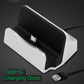 Type C USB Fast Sync Data charger Dock Stand Station desktop Charging ForHuawei xiaomi LeEco mobile