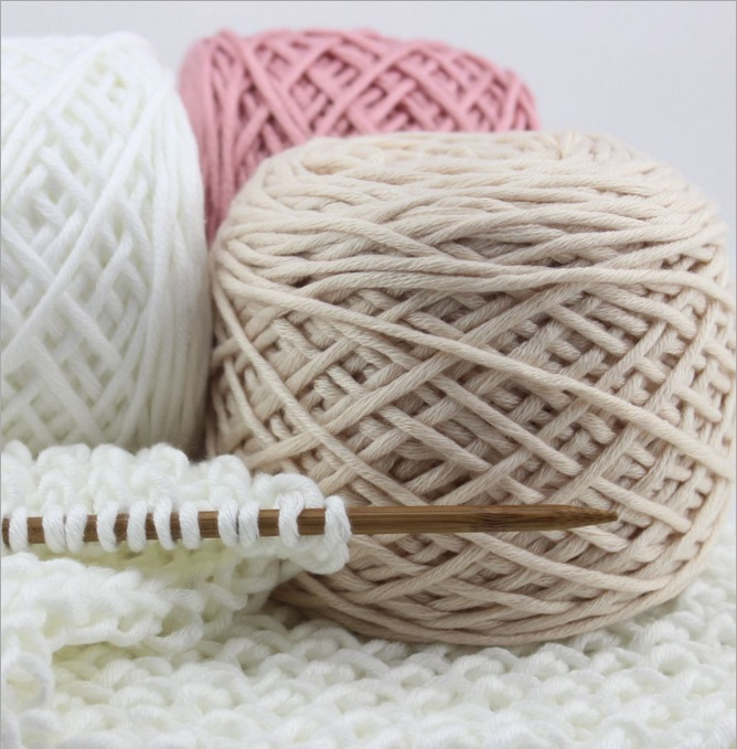 Knitting Warehouse Location : Aliexpress buy thick winter scarf hand knitting yarn