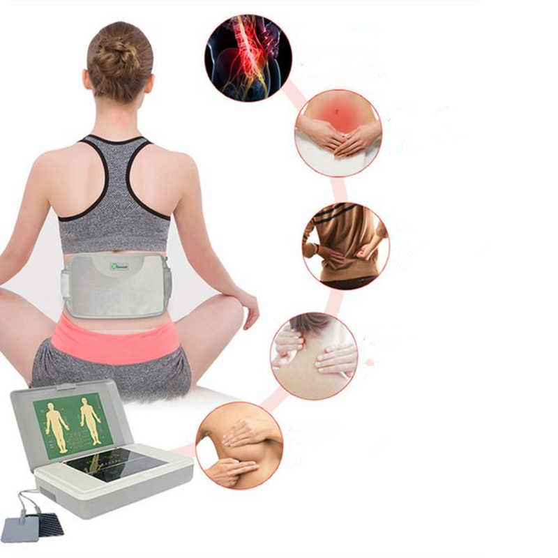As Seen On Tv Top Selling Massage & Relaxation Tens Low Frequency Heating Body Massage Therapy Physical Therapy Massager(China (Mainland))
