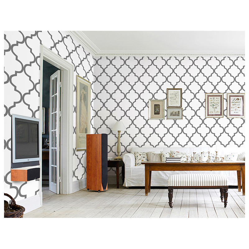Online get cheap country wallpaper patterns aliexpress for Cheap black wallpaper