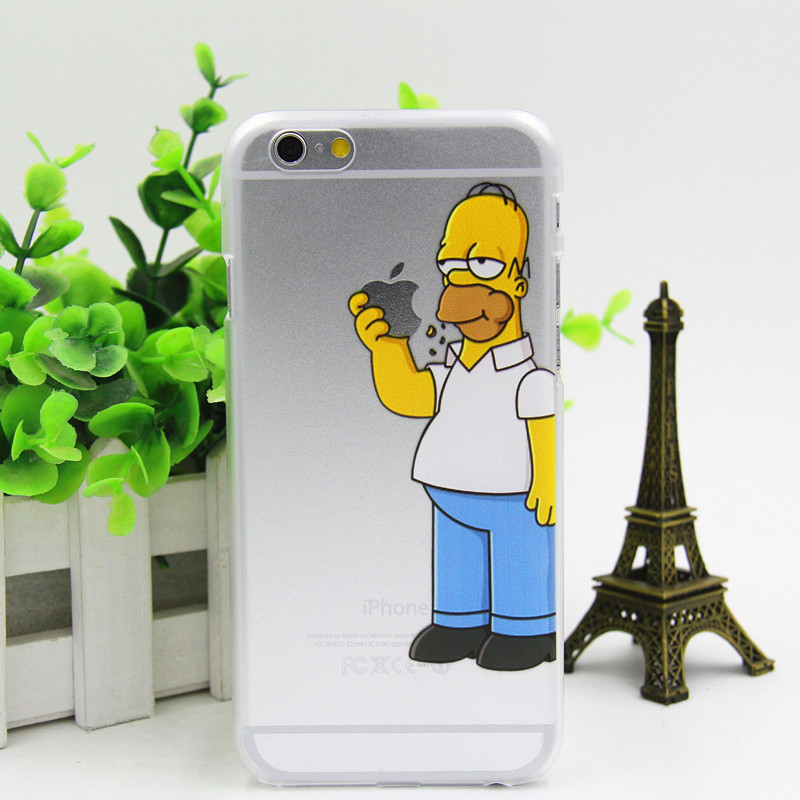 Phone cases for Apple iPhone 6s case fashion cartoon Snow White transparent logo back cover free shipping