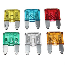 New 60pcs Assorted Car Auto Truck Mini Blade Fuse 5A 10A 15A 20A 25A 30A AMP Mixed Free Shipping