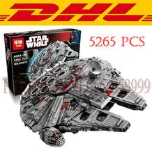 LEPIN 05033 5265Pcs Star Wars Ultimate Collector's Millennium Falcon Model Building Kits Blocks Bricks Children Toys Gift 10179(China (Mainland))