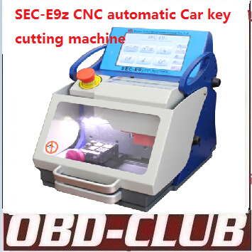 2015 Original Auto Locksmith Tool SEC-E9z CNC automatic key cutting machine Multi Language Portugues Italian Russian version(China (Mainland))
