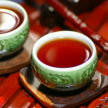 Dropshipping Yunnan Pu er ripe tea alcohol taste jade cake coffee flavor Tuo Cha 50pcs lot